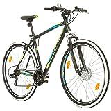 BIKE SPORT LIVE ACTIVE 29 Zoll Bikesport Thunder Herren Fahrrad MTB Mountainbike Hardtail Shimano 21 Gang (Schwarz Matt, L)