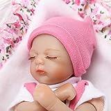 Nicery Reborn Baby Doll Baby-Puppe Weich Simulation Silikon Vinyl 8 Zoll 20cm Boy Girl Mädchen Spielzeug RD20C001GC