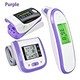 Finger Pulse Oximeter Digital Health Care Termometro Elettronico a Infrarossi...