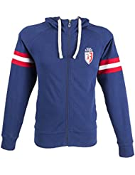 a1bdce3eb62 Lille OSC Sweat Zip Capuche LOSC - Collection Officielle Taille Adulte Homme