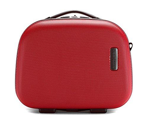 WITTCHEN Kosmetiktasche Kosmetikkoffer, 15x35x31 cm, Rot, 11L, ABS, 56-3-614-30 (Geldbeutel Gucci Kleinen)