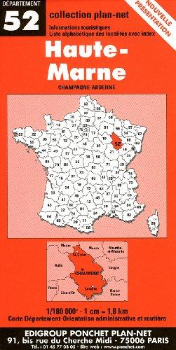 Carte routière : Haute-Marne