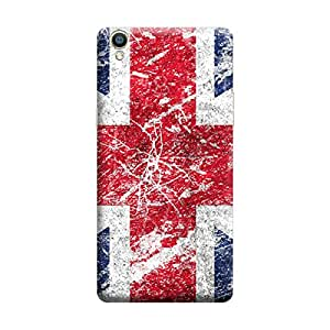 Digi Fashion Designer Back Cover with direct 3D sublimation printing for Oppo F1 Plus
