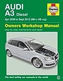 Audi A3 Diesel (Apr 08 - Sept 12) Haynes Repair Manual