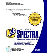 Allaire Spectra e-Business Construction Kit with CDROM by Ben Forta (2000-05-30)
