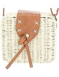 589e0d383 MISEMIYA - Bolsos rafia para mujer bolso shopper bolso de mano SR-YL819(19