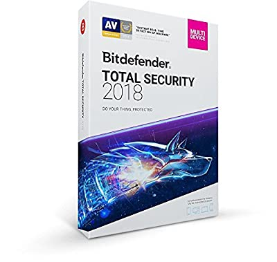 Bitdefender Total Security Multi Device 2018 - 5 Devices, 1 year Digital Delivery to Amazon Message centre