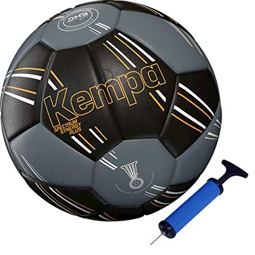 Kempa handball Spectrum Top Training & Spielball schwarz + Ballpumpe (3)
