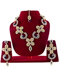 Baal Gold Plated Jewellery Set For Wedding Gold Plated Jewellery Set For Women Gold Plated Jewellery For Women...
