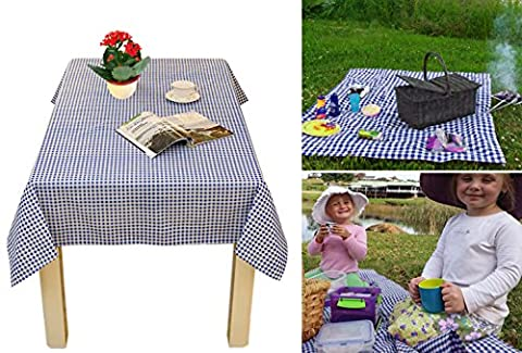 Table Cover Cloth Camping Picnic blanket mat Oblong Cotton Blend