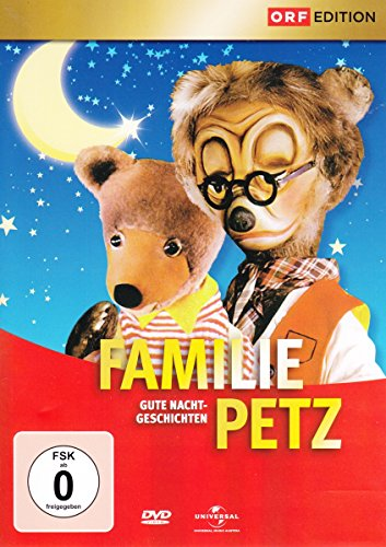 Familie Petz – Gute Nacht-Geschichten Box 1 [3 DVDs]