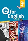 E for English 3e (éd. 2017) – Coffret classe 2 CD audio + 1 DVD