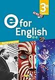E for English 3e (éd. 2017) Coffret classe 2 CD audio + 1 DVD