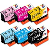 Starink Kompatible für Epson 378 XL 378XL Tintenpatronen für Epson Expression Photo XP-8500 XP-8505 XP-15000 XP 8500 XP 8505 XP 15000 XP8500 XP8505 XP15000 Patronen(6 Stück)