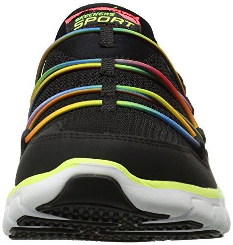 Skechers SynergyLoving Life, Sneaker Donna nero (Noir - Schwarz (BMLT))