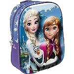 51Bas4dXLQL. SS150 Star Licensing Disney Frozen Zainetto 3D per Bambini, 31 cm, Multicolore