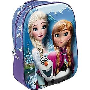 Star Licensing Disney Frozen Mochila 3D para niños, 31 cm, Multicolor
