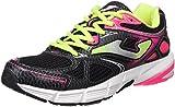 JOMA R.VITALY Lady 601 Negro-Fucsia - Zapatillas para Correr para Mujer, Color Negro-Fucsia, Talla 42