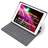 Inateck Ultra Slim Tastatur Hülle kampatibel mit iPad 2018(6. Generation), iPad 2017(5.Generation) und iPad Air 1, Keyboard Case mit Mulit-Angle- Ständer-Funktion,QWERTZ Layout, BK2003