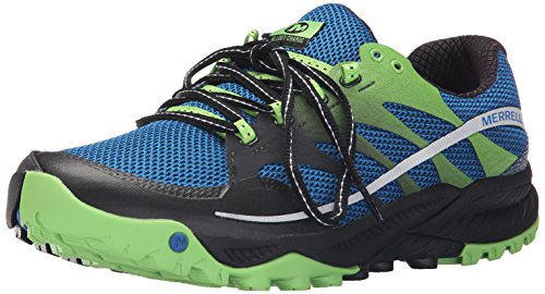 Merrell - All Out Charge, Scarpe da corsa da uomo, Blu (Blue (Blue Dusk)), 42 EU