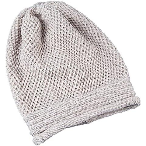 Gorro de invierno, RETUROM Moda de invierno de punto invierno cálido Hombre Hip-Hop Beanie sombrero Baggy unisex Ski Cap cráneo