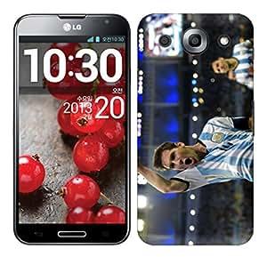 WOW Printed Designer Mobile Case Back Cover For LG Optimus G Pro F240K