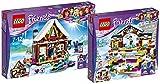 Lego Friends 41323–Chalet en los deportes de invierno lugar + Lego Friends 41322–de hielo Espacio en los deportes de invierno lugar
