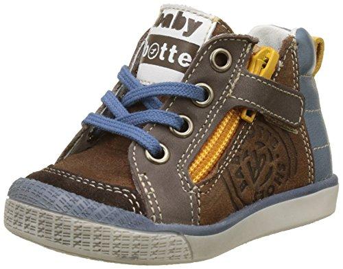 babybotte - Akro, Pantofole a Stivaletto Bambino Marrone (Marrone)