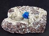 The Russian Stone Il Russo Pietra Cavansite Cluster su Stilbite dall' India–4.4cm