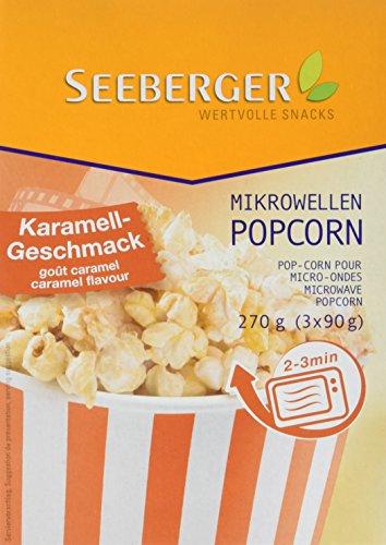 Preisvergleich Produktbild Seeberger Mikrowellen Popcorn Karamell,  270 g