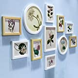 CAOYU Photo Wall europeo Home semplici rivestimenti murali in legno Photo Frame (Colore : F.)