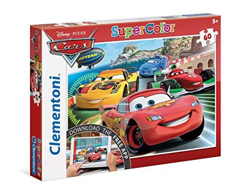 Clementoni - 26940.2 - Puzzle avec App - Cars - 60 Pièces