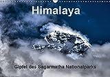 Himalaya - Gipfel des Sagarmatha Nationalparks (Wandkalender 2019 DIN A3 quer): Berge des Sagarmatha Nationalparks, Nepal - Himalaya (Monatskalender, 14 Seiten ) (CALVENDO Orte)