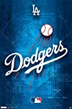 Los Angeles Dodgers Team Logo Baseball MLB Poster RP8634