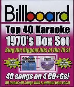 Billboard 1970's Top 40 Karaok [Import anglais]