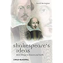 Shakespeare's Ideas (Blackwell Great Minds)