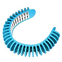 SGerste Summer Amazing Wearable Neck Air Cooler Body Neck Cooling Belt Band Personal Cooling System-Light Blue