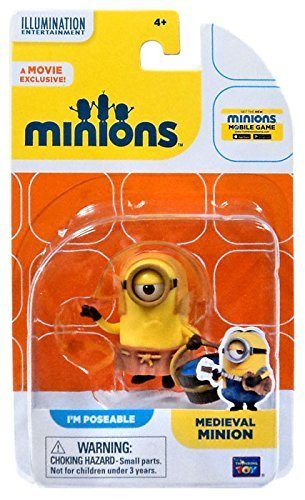 Minions Figur Mittelalter Minion - PM Poseable - Minion aus der Mittelalterszene im Film