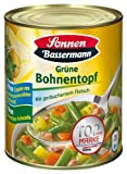 Sonnen Bassermann Grüner Bohneneintopf , 3er Pack (3 x 800 g Dose)