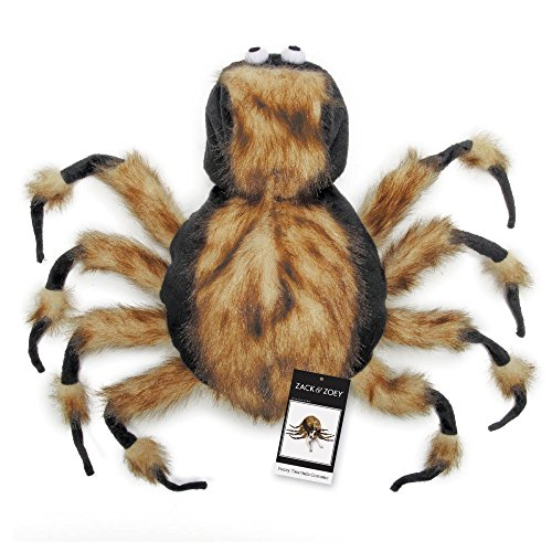 Tarantula Kostüm - Zack & Zoey Fuzzy Tarantula Kostüm, X-Small
