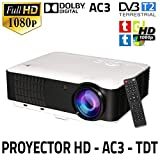 Unicview HD200 - Proyector (TDT, USB, HDMI, VGA, AC3)