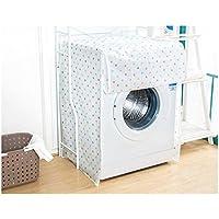 Funda para lavadora o secadora, 62x57x82cm, carga frontal, cierre con cremallera, impermeable, protector, cubierta protectora, para electrodomésticos de baño y cocina (modelos aleatorios)