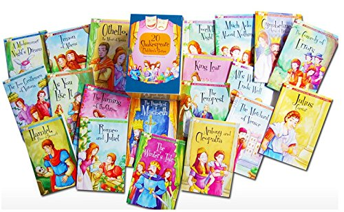 Twenty Shakespeare Children's Stories - The Complete 20 Books Boxed Collection: The Winters Take, Macbeth, The Tempest, Much Ado About Nothing, Romeo ... and More (A Shakespeare Children's Story)