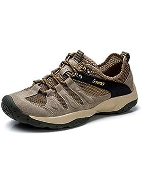 UBFen Herren Sportschuhe Trekking Wanderhalbschuhe Sneakers Outdoorschuhe Wanderschuhe Turnschuhe Casual Schuhe...