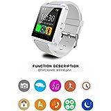 Life Like U8 Bluetooth Smartwatch for All Smartphones (White)