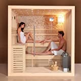 perfect-spa Design Sauna PS 1102 B 200 X 170 cm 6KW/Saunaofen Wellnesstempel Oase
