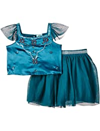 Uttam Kids Girl's 2 Piece Party Set Skirt
