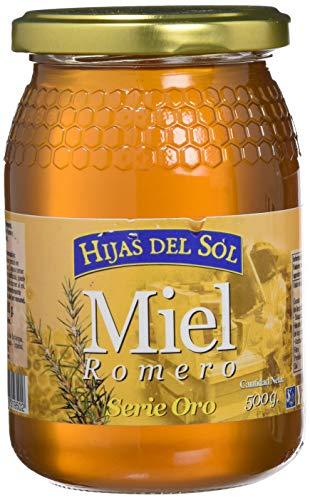 Miel de Romero - 1kg - Producida en España - Alta Calidad, tradicional & 100% pura - Aroma Floral y Sabor Rico y Dulce - Amplia variedad de Deliciosos Sabores