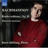 Rachmaninoff: Études-tableaux, Op. 39 & 6 Moments musicaux, Op. 16