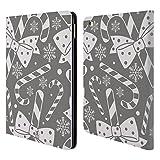 Head Case Designs Stock Silber Urlaub Kollektion Brieftasche Handyhülle aus Leder für iPad Air 2 (2014)